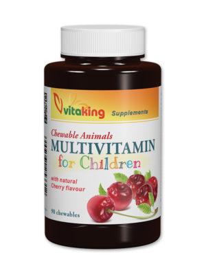 Multivitaminas masticables para niños